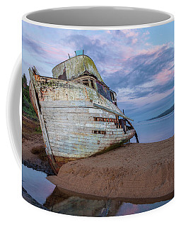 Coffee Mug featuring the photograph Dawn Over Tomales Bay by Jonathan Nguyen