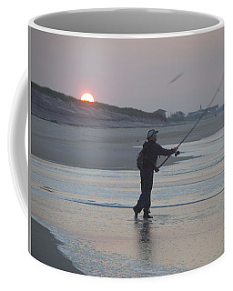 Coffee Mug featuring the photograph Dawn Patrol by Newwwman