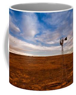 Dawn Prairie Windmill Coffee Mug