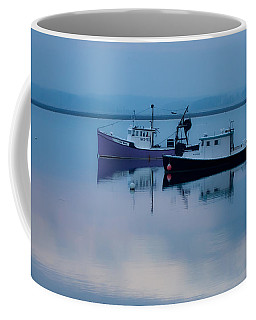 Coffee Mug featuring the photograph Dawn Rising Over The Harbor by Jeff Folger