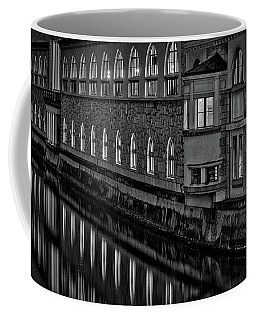Coffee Mug featuring the photograph Dawn River Reflections #2 - Slovenia by Stuart Litoff
