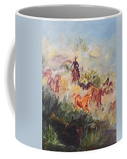 Dawn Roundup Coffee Mug