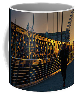 Coffee Mug featuring the photograph Dawn Run by Alex Lapidus