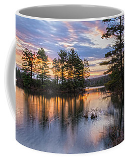Dawn Serenity At Lake Tiorati Coffee Mug