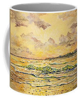 Dawns View Of Siesta Key Coffee Mug by Lou Ann Bagnall