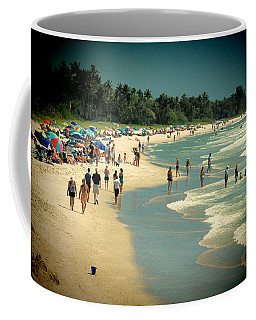 Day At The Beach Coffee Mug by Rosalie Scanlon
