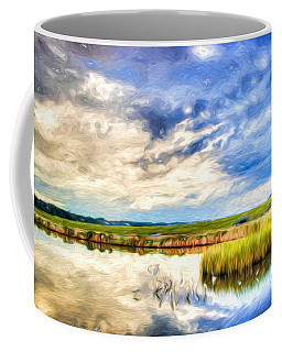 Day At The Marsh Coffee Mug