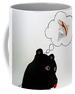 Coffee Mug featuring the photograph Day Dreaming Of Lunch by Joseph Frank Baraba