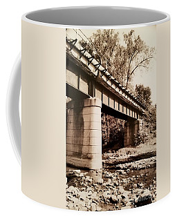 Day Hike Along The Old Railroad Tracks Coffee Mug