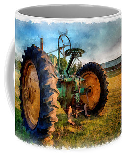 Day Is Done Watercolor Coffee Mug