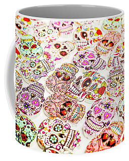 Day Of The Dead Colors Coffee Mug
