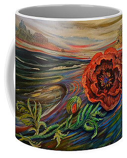 Day Of The Poppy Coffee Mug