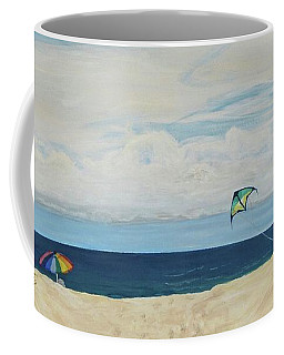 Day On Beach Coffee Mug