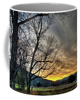 Coffee Mug featuring the photograph Daybreak In The Cove by Douglas Stucky