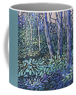 Coffee Mug featuring the painting Daybreak by Joanne Smoley