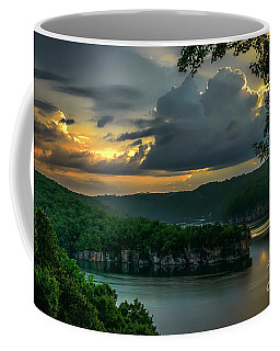 Coffee Mug featuring the photograph Daybreak Over Long Point by Thomas R Fletcher