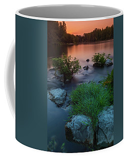 Daybreak Over The Old Reverbed Coffee Mug
