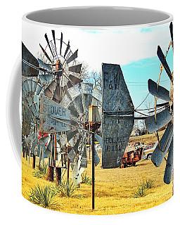 Daylight In The Garden Of Rust And Metal Coffee Mug