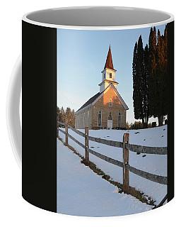 Daylight's End_vertical Coffee Mug by Janice Adomeit