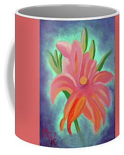 Daylily At Dusk Coffee Mug by Margaret Harmon