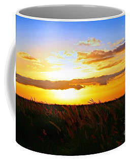 Coffee Mug featuring the photograph Day's End by DJ Florek