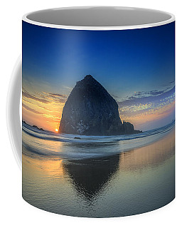 Day's End In Cannon Beach Coffee Mug