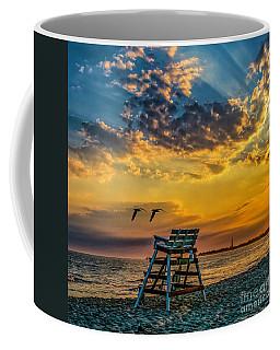 Days End In Cape May Nj Coffee Mug