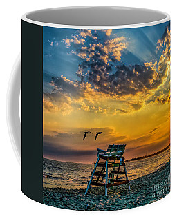 Days End In Cape May Nj Coffee Mug