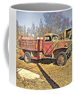 Days Of Old Canol Pipeline Project  Coffee Mug