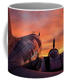 Dc-3 Dawn - 2017 Christopher Buff, Www.aviationbuff.com Coffee Mug