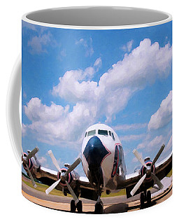 Coffee Mug featuring the digital art Dc 7 by Chris Flees