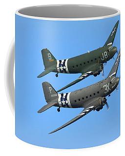 Dc3 Dakota C47 Skytrain Coffee Mug by Ken Brannen