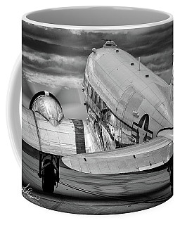 Dc3 Taxiing For Departure Coffee Mug