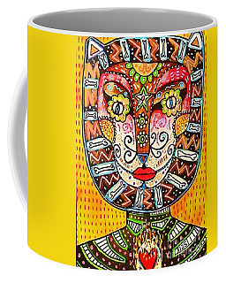 Ddd Tiger Cat Coffee Mug