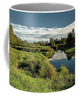 De Boville Slough At Pitt River Dike Coffee Mug