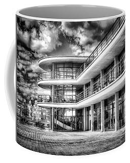 Coffee Mug featuring the digital art De La Warr Pavillion by Leigh Kemp