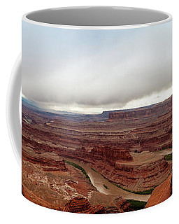 Dead Horse Point Panorama Coffee Mug by Jay Stockhaus
