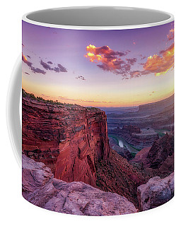 Coffee Mug featuring the photograph Dead Horse Point Sunset by Darren White