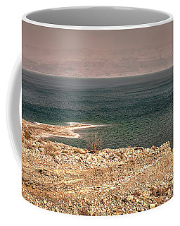 Dead Sea Coastline 1 Coffee Mug