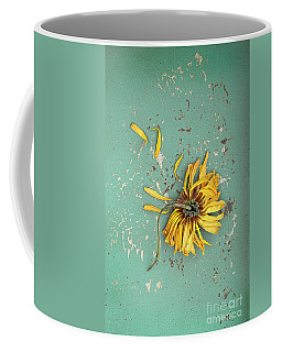 Coffee Mug featuring the photograph Dead Suflower by Jill Battaglia