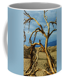 Coffee Mug featuring the photograph Dead Tree In Death Valley 12 by Micah May