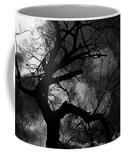 Dead Tree With Birds Coffee Mug
