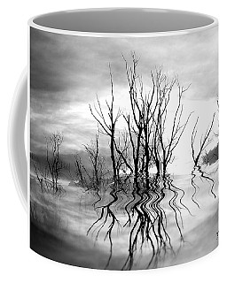 Coffee Mug featuring the photograph Dead Trees Bw by Susan Kinney