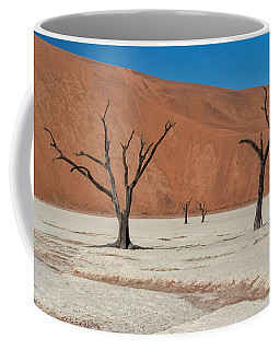 Coffee Mug featuring the photograph Dead Vlei by Rand