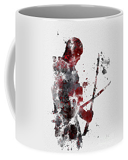 Deadpool Coffee Mug by Rebecca Jenkins