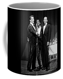 Dean Martin, Sammy Davis Jr. And Frank Sinatra. Coffee Mug
