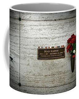 Dean Martin's Final Resting Place Coffee Mug