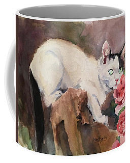 Deano In The Roses Coffee Mug