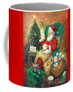 Dear Santa Coffee Mug