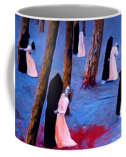 Death And The Maidens Coffee Mug